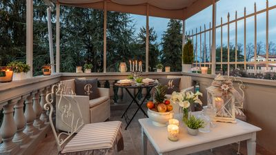 Photo for CASA UCCELLINI with a Romantic Terrace Inside the Walls of Lucca