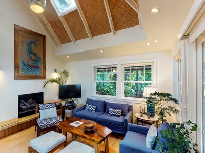 Photo for NEW LISTING! Beautiful waterfront house w/ garden & porch - walk to the beach