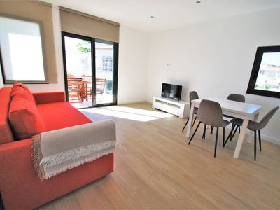 Photo for Fantastic sunny apartment with swimming pool brand new this season.