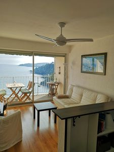Photo for BANYULS SUR MER - The Mediterranean at your feet - 3 room apartment