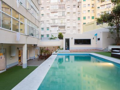 Photo for Swimming Pool And Garden Apartment