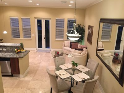 Photo for Luxury Beach Townhouse, Steps to beach, Free Wifi & parking
