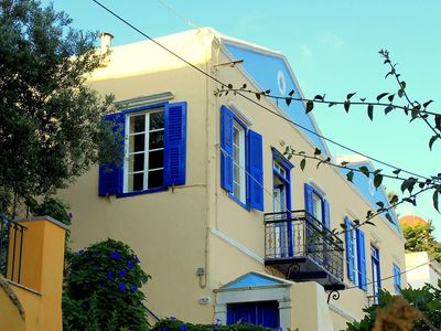 Photo for Traditional Greek Villa With Stunning Views of Symi Harbour