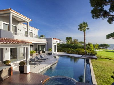 Photo for Five star villa in Vale do Lobo. Beautiful views, Private Pool, WiFi. Stunning. J131