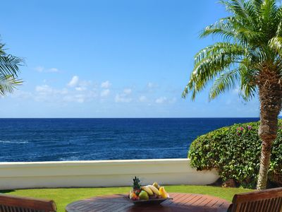 Photo for Hale Nani: OCEANFRONT VIEWS & SUNSET VIEWS WITH AC & WALK TO BEACH!