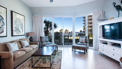 Photo for CRB0108 - Charming Waterfront Condo w/ B
