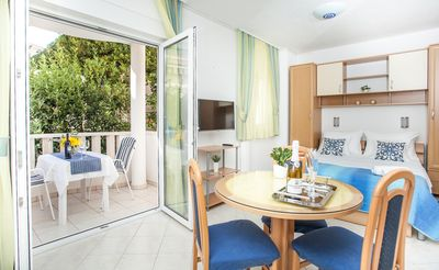 Photo for Lovely studio ❤ for 2, balcony, 50 m to the beach