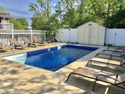 Photo for Updated Beach Home w/ Private Heated Pool!