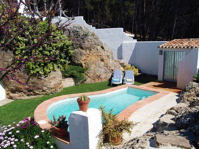 Photo for Villa la Roca, WIFI, air conditioning and pool for 6 pax near Ronda