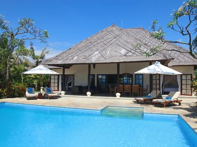Photo for Villa Bersama: Live The Bali Dream In This Luxury Beach Front Villa With Staff!