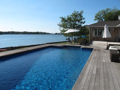 Photo for Magical modern waterfront home