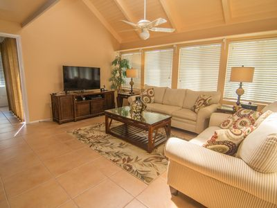 Photo for Lovely 2 bedroom with loft and 2 bath home with landscaped view