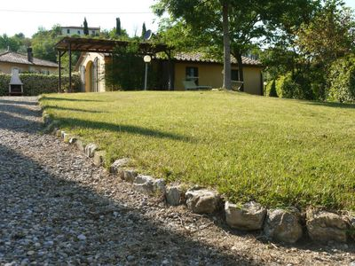 Photo for 2 bedroom Villa, sleeps 3 in Canneto with WiFi