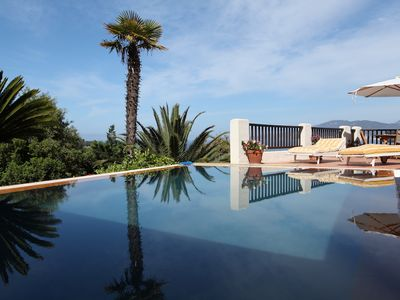 Photo for Villa of 200 m2 with pool and panoramic views of the Gulf of Ajaccio.
