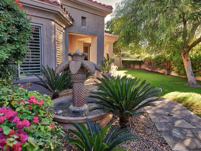 Photo for Apr.avail-La Quinta 3 Bed/3 bth w/ Private Pool, Spa, BBQ & Fire Pit-Quiet Gated