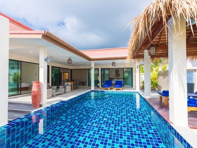 Photo for BLUEBIRD , new tropical private pool vil