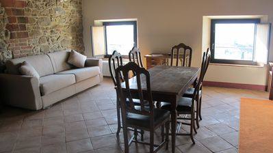 Photo for 2BR Apartment Vacation Rental in San Gusmé, Toscana