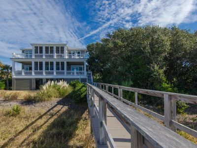 Photo for Edisto Sunset - Beach Front Showplace For Large Group