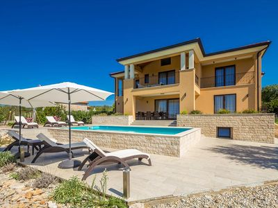 Photo for Beautiful and comfortable holiday home in Bajcici, Island Krk, Croatia  with private pool for 12 persons