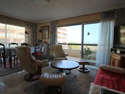 Photo for 5MN APARTMENT BEACHES, TERRACES WITH SEA VIEW, PARK AND PRIVATE TENNIS
