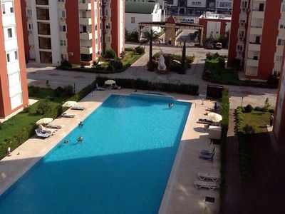 Photo for Luxury 3-bedroom sea-view apartment close to the Beach