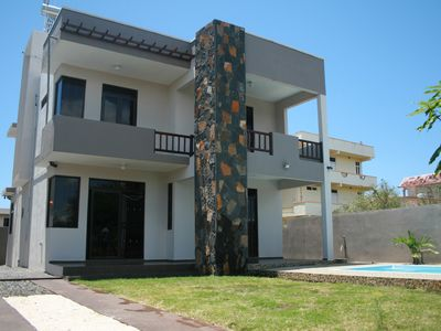 Photo for Luxury villa with 4 bedroom all en-suite and private swimming pool, with seaview
