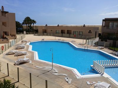 Photo for Apartment Brisa del Mar just 100 meters from the pool, sea and beach,wifi,SAT-TV