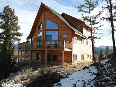 Photo for Beautiful Family And Pet Friendly Mountain Cabin