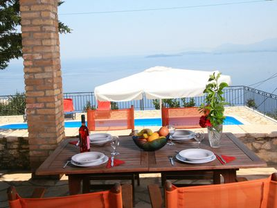 Photo for Villa Ioanna -Stone Villa with Stunning Views and Private Swimming Pool