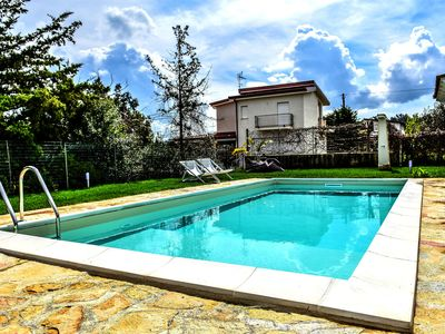 Photo for Villa Jolie 8 beds private swimming pool parking air conditioning wi-fi