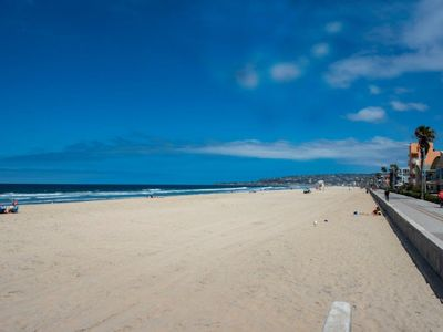 Photo for Steps to Mission Beach! 2 Bedrooms/2 Bath/Sleeps 6!