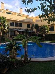 Photo for JAVEA Arenal Beach, 5 minutes walk, Pool , NEW Air con, WIFI, Families.