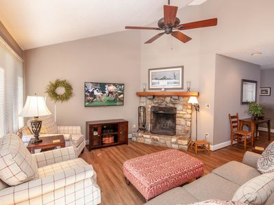 Photo for 3BR, Grandfather Mountain Views, Wood Burning Fireplace, Quiet Neighborhood in Blowing Rock