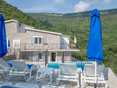 Photo for Large Communal Pool, Sun Terraces, Sea and Mountain Views, 2 km to sea