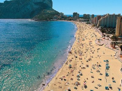 Photo for Calpe Apartment, Sleeps 5 with Pool, Air Con and WiFi