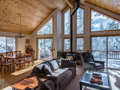 Photo for 3BR Pine Forest House, Tahoe Donner- Access the Trout Creek Center Amenities!