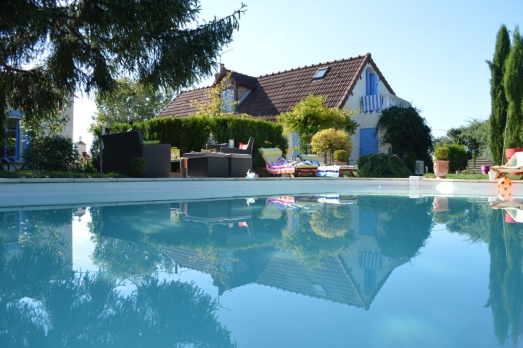 Superb Montambert Cottage Rental   Holiday Rental: Pool/fireplace Burgundy Morvan