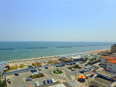 Photo for Large three-room apartment with excellent sea view