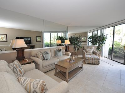 Photo for Shorewood Gem!  Oceanside 1st Floor Flat with Great View - Steps to Beach & Pool