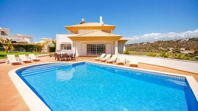 Photo for UP TO 40% OFF! Modern Villa, Private Pool, games room, AC, free WiFi, sea view