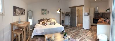 Photo for Beautiful charming studio in Sanary / sea