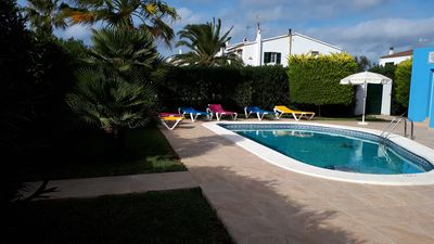 Photo for Beautiful villa with pool in Calan Blanes