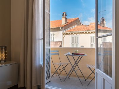 Photo for The heart of Cannes ! Ideal location, 53 m2, great retreat.