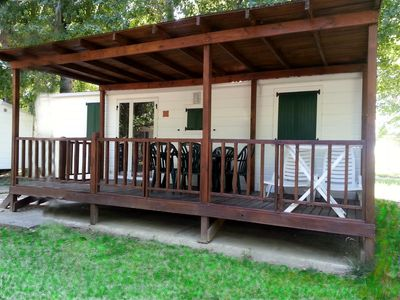 Photo for Mobilehome at the Punta Navaccia campsite