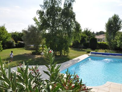Photo for Large house with garden and pool near Toulouse