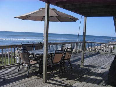 Photo for Oceanfront Beach House- Narragansett, RI - Week of July 6 Available