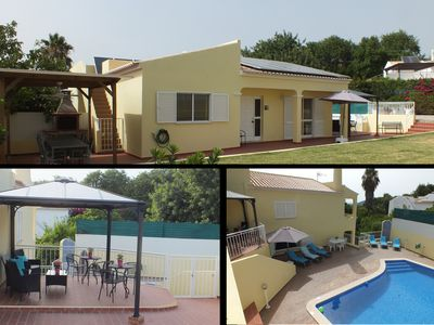 Photo for Private pool, games room, green areas, BBQ area