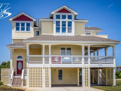 Photo for Wine N' Sea | 348 ft from the Beach | Dog Friendly, Private Pool, Hot Tub