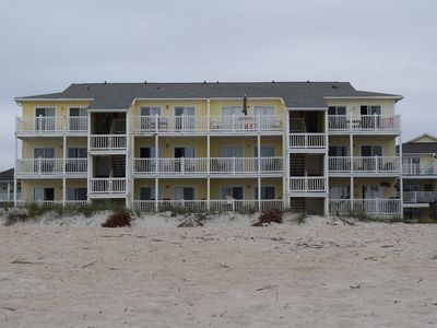 Photo for Four Winds, Carolina Beach Oceanfront Condo, North End