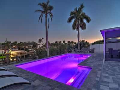 Photo for Canalfront 'Caribbean Retreat' w/Pool & Boat Dock!